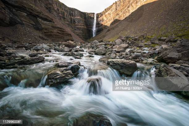 litlanesfoss - henan province stock photos and pictures