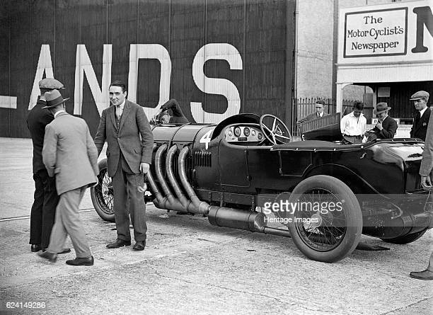 Photographic Print: 22 litre Benz of GK Clowes at a