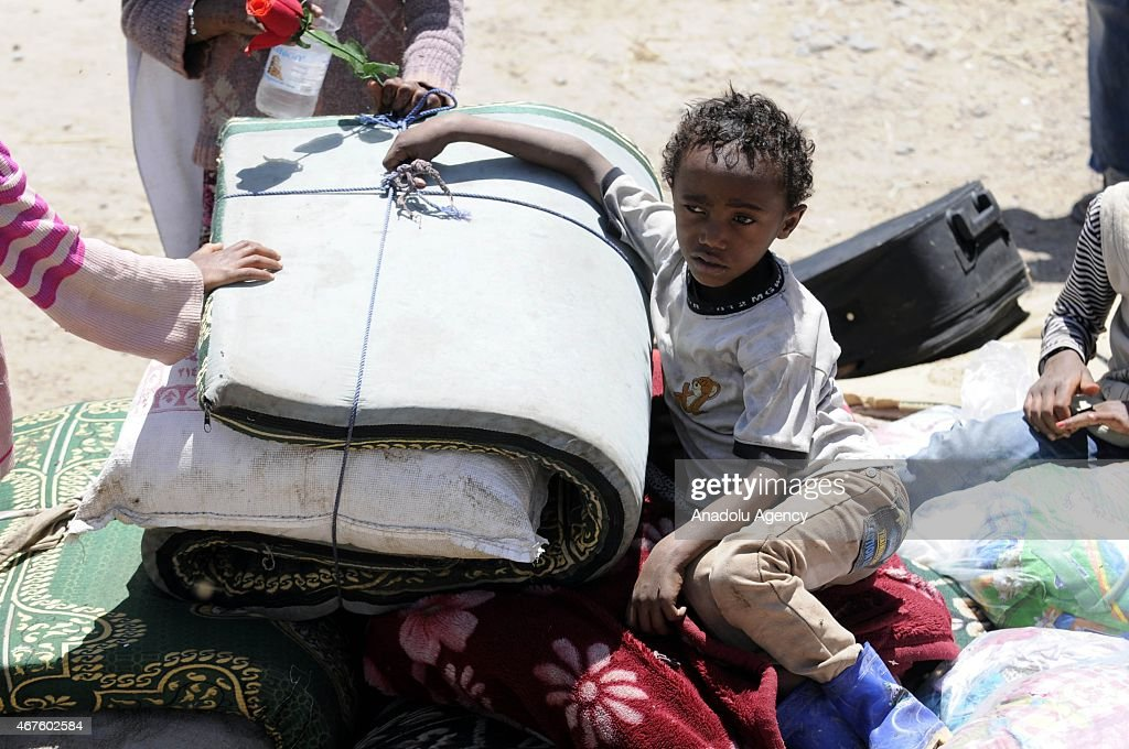 Saudi Arabia launches military operation in Yemen against Houthis : News Photo