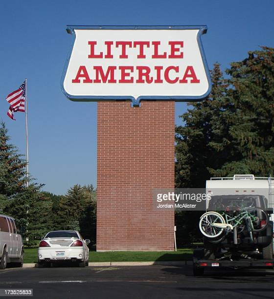 Little America is a well known truck stop located on Interstate 80 in rural western Sweetwater County, Wyoming between Green River and Evanston.