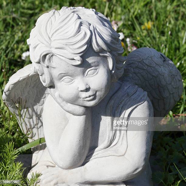 Little angel face smiling