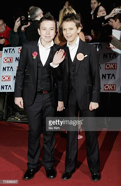 Little Ant and Little Dec attend the National Television Awards 2006 held at the Royal Albert Hall on October 31 2006 in London England