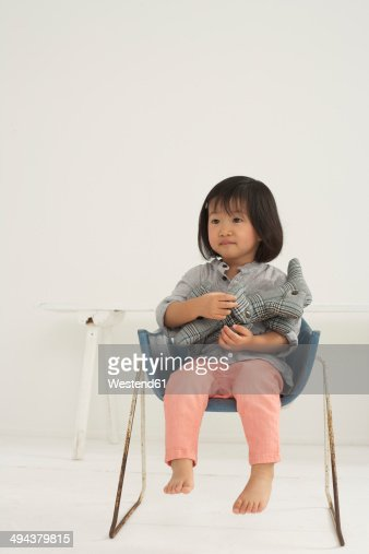 Asian girl toy