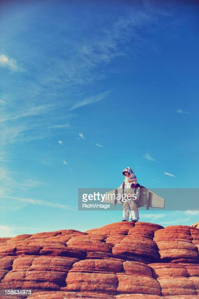 little astronaut - intellectual property stock pictures, royalty-free photos & images