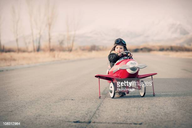 little aviator - piloting stock pictures, royalty-free photos & images