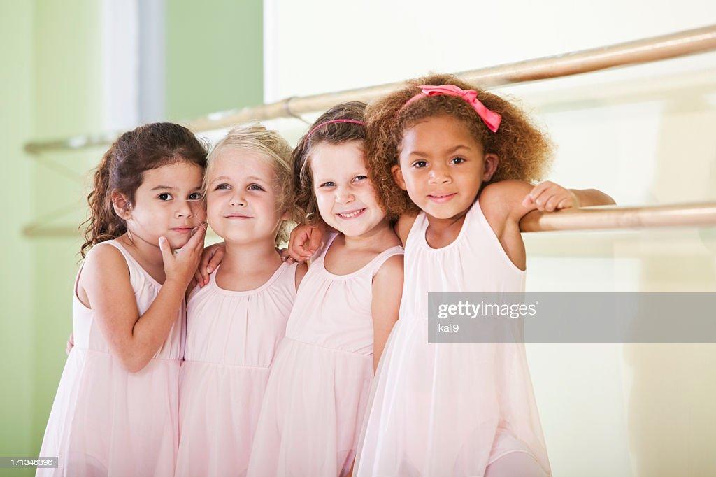 Little ballerinas : Stock Photo
