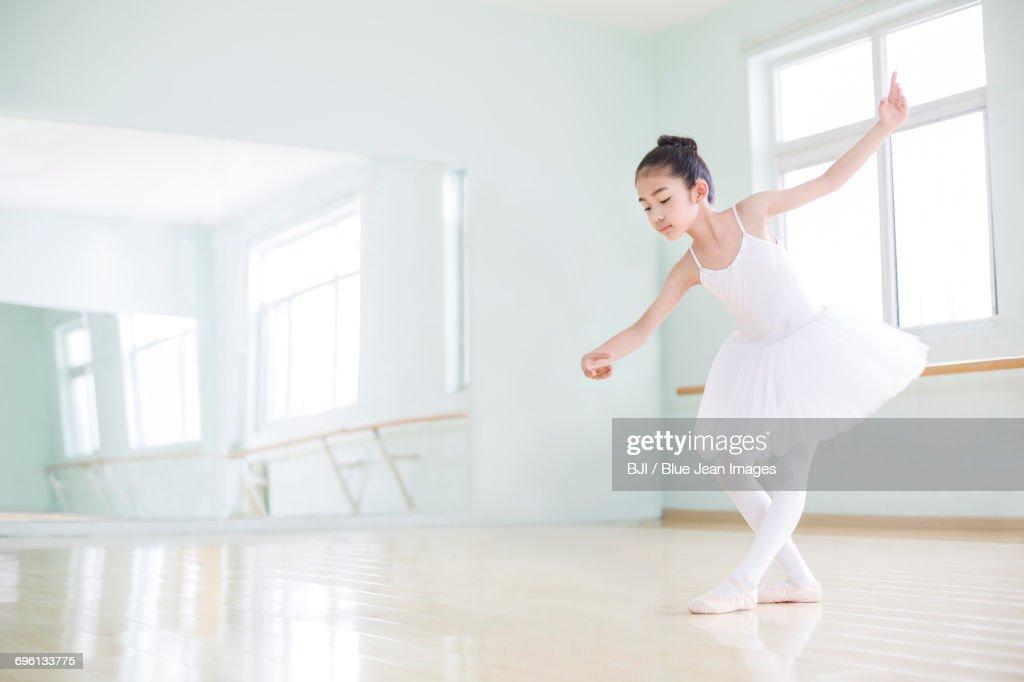 Little ballet dancer : Stock Photo