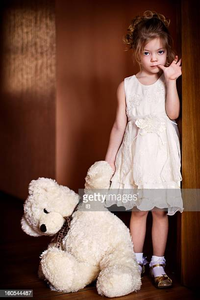 60 Top Sad Teddy Bear Pictures, Photos, & Images - Getty ...Little Girl With Teddy Bear Black And White