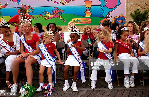 Little Beauty Queens at the Miss America competition Atlantic City