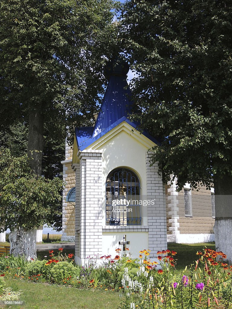Little bell tower at a church. : Stockfoto