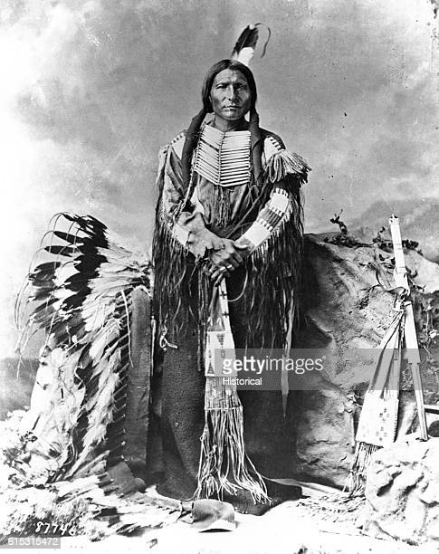 Little Big Man the subchief of Oglala Sioux was second in command after Crazy Horse in 1876 for the Battle of Little Big Horn