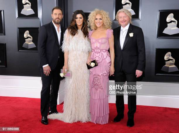 Little Big Town on the red carpet at THE 60TH ANNUAL GRAMMY AWARDS broadcast live on both coasts from New York City's Madison Square Garden on Sunday...