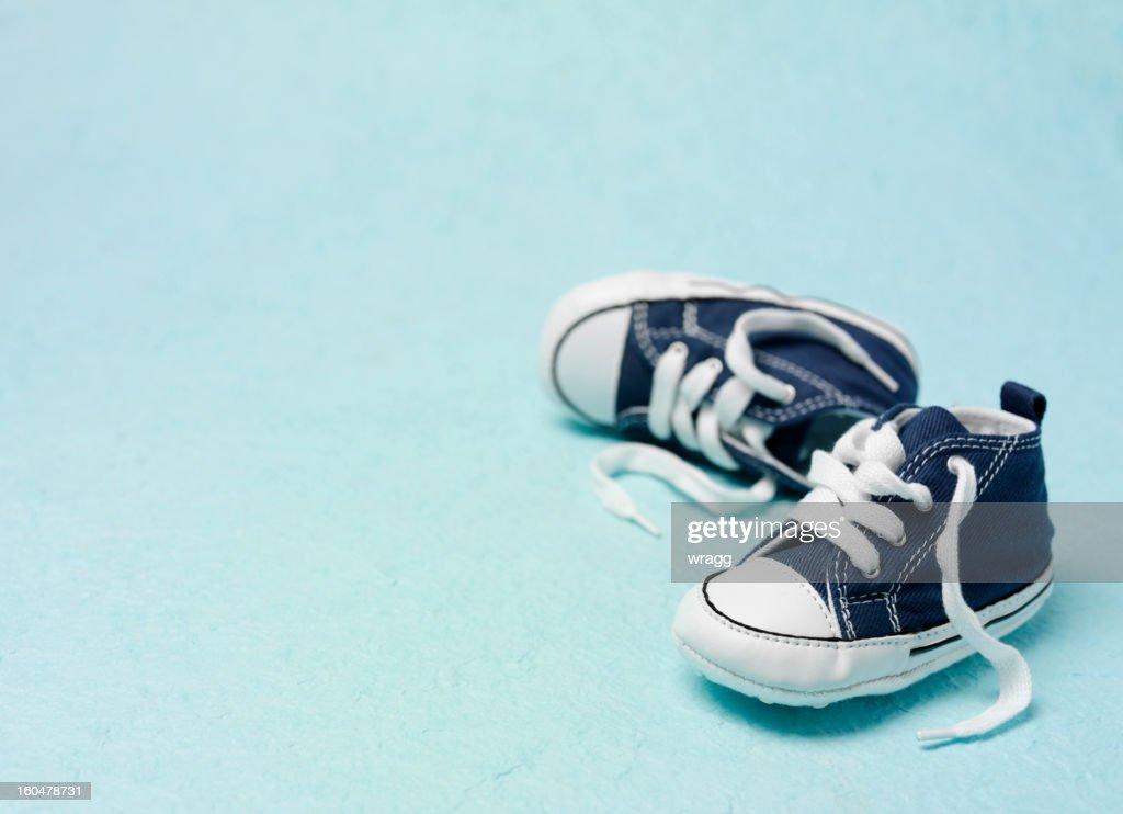 Little Blue Booties : Stock Photo
