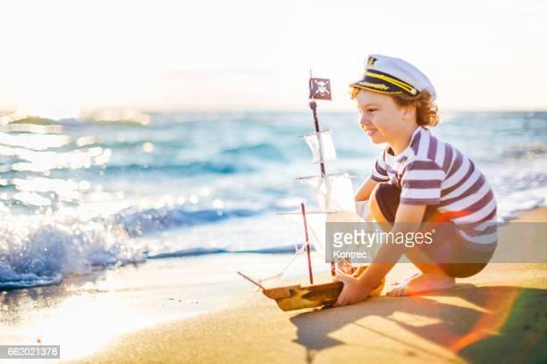 Kleines Bootskapitän