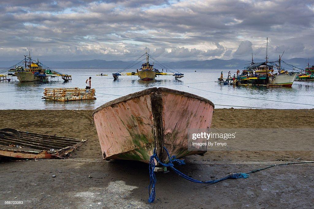 Little boat : Stock Photo