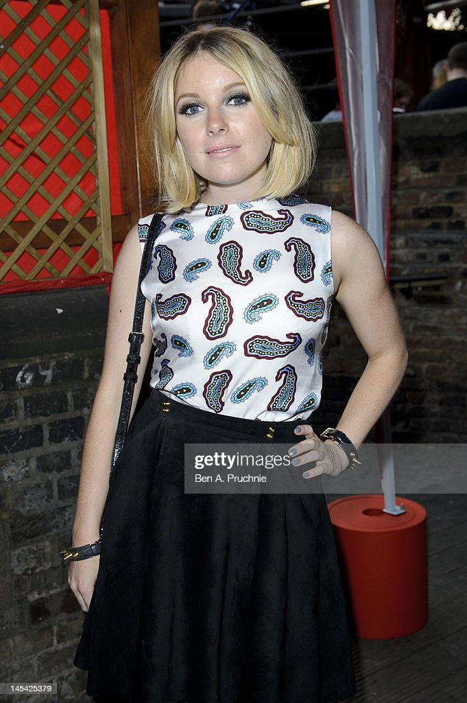 Little Boots attends Tunnel of Love in aid of The British Heart Foundation at Proud Camden on May 29, 2012 in London, England.