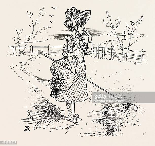 Little Bopeep Has Lost Her Sheep And Cannot Tell Where To Find Them Leave Them Alone And They'll Come Home And Bring Their Tails Behind Them Nursery...