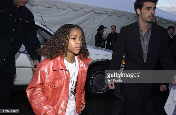 Little Bow Wow at the American Music Awards in Los Angeles on 1/8/01