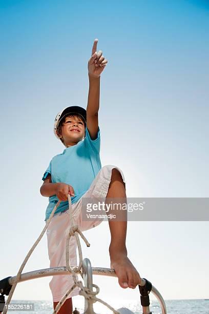 Kleine Junge als sailor