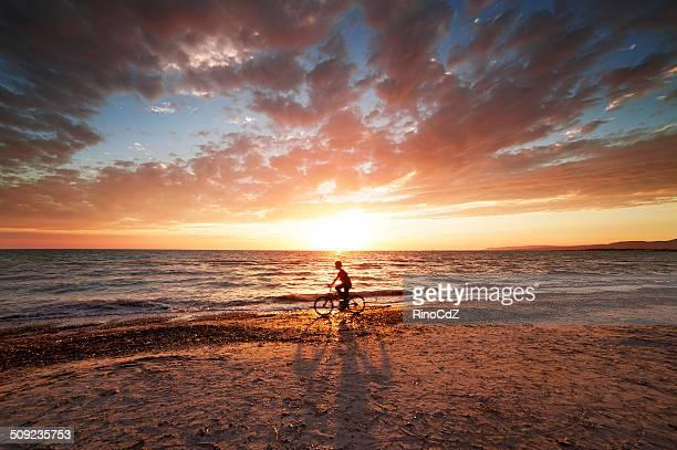 Little Boy サイクリング海岸