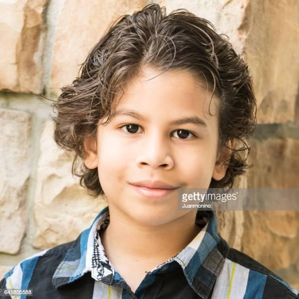 Little boy headshot