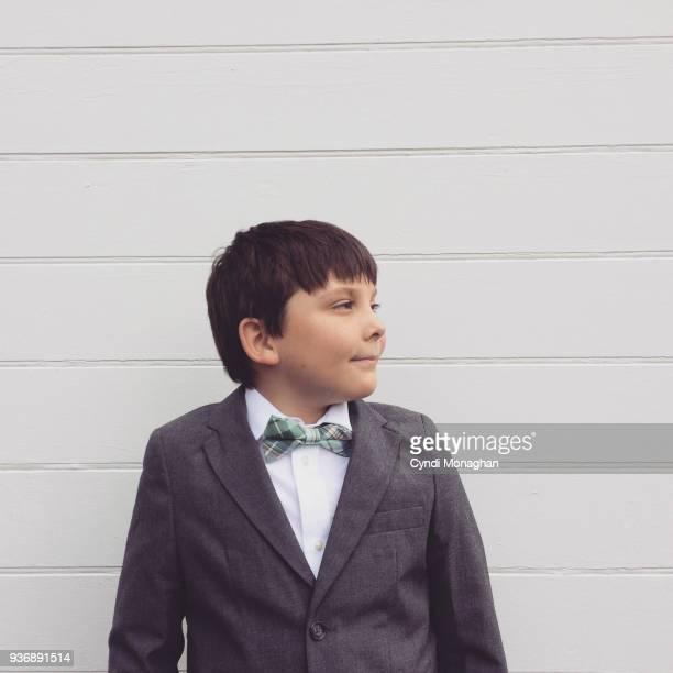Little Boy in Easter Suit
