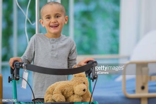 Little Boy Learns to Walk Again