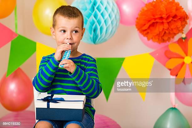 Little boy on a party