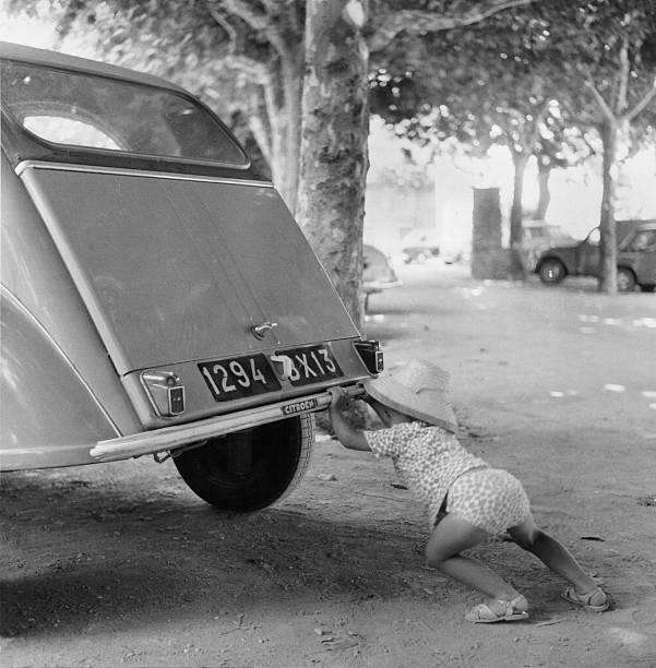 Car Break-Down 1964 Wall Art