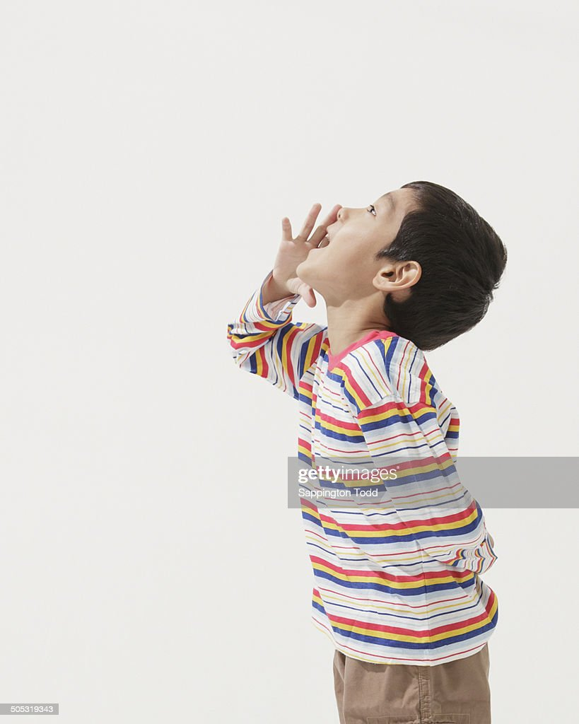 little boy screaming stock photo getty images