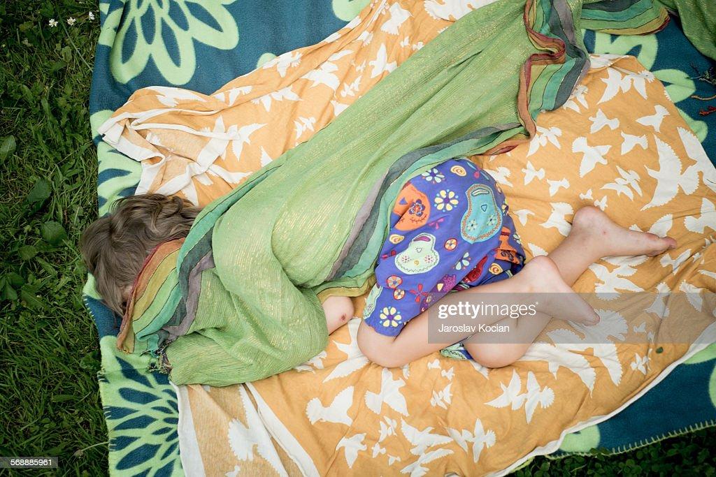 Little boy sleeping : Stock Photo