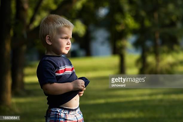Little Boy Watching