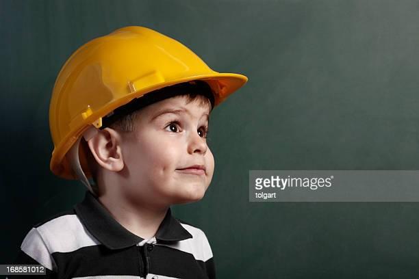 Little Trabajador de construcción