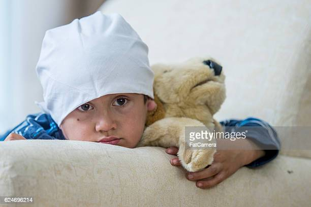 Little Boy with Leukemia