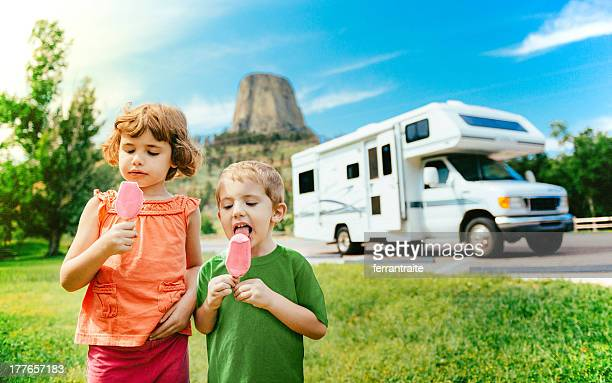 Little Campers on Motorhome Road Trip