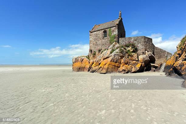 Little chapel behind Mt. St. Michel/ France