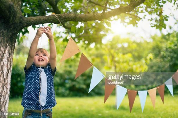 小さな子供のパーティー イベントの準備