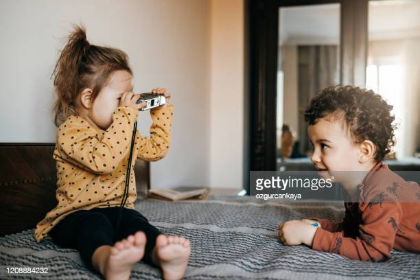 little children taking a picture - turkey middle east stock pictures, royalty-free photos & images