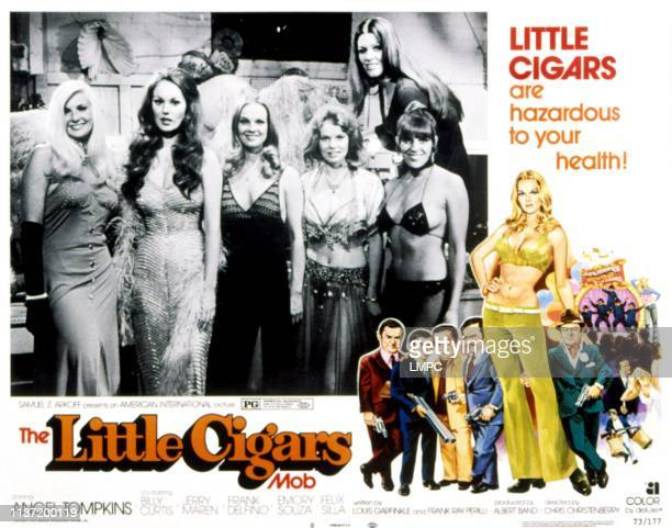 Little Cigars lobbycard Angel Tompkins 1973