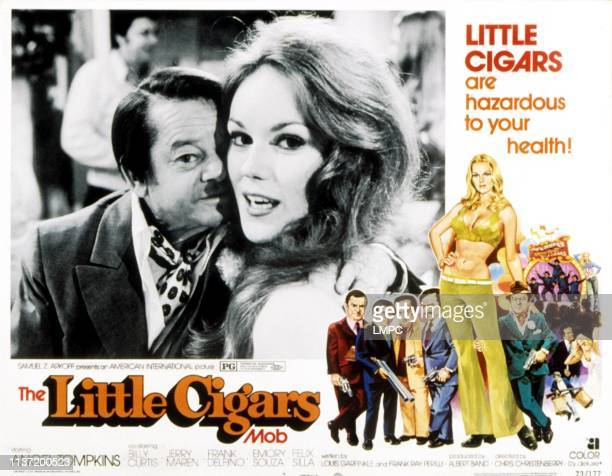Little Cigars lobbycard Billy Curtis Angel Tompkins 1973