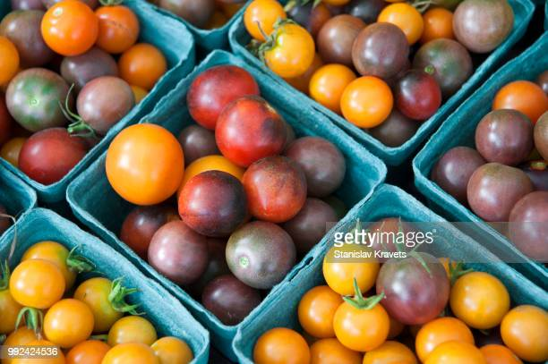 little colorful tomatos