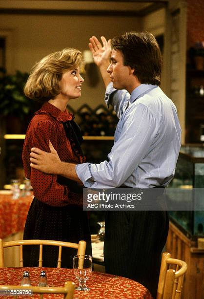 """Little Competition"""" - Airdate: December 4, 1984. MARY CADORETTE;JOHN RITTER"""