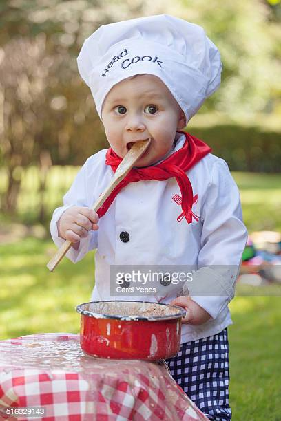little cook - carol cook stock pictures, royalty-free photos & images