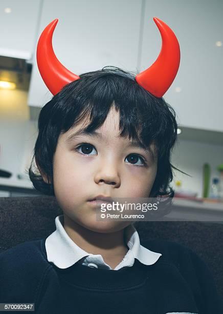 little devil - peter lourenco stockfoto's en -beelden