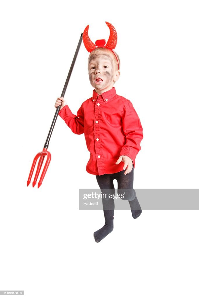 Little devil. : Stock Photo