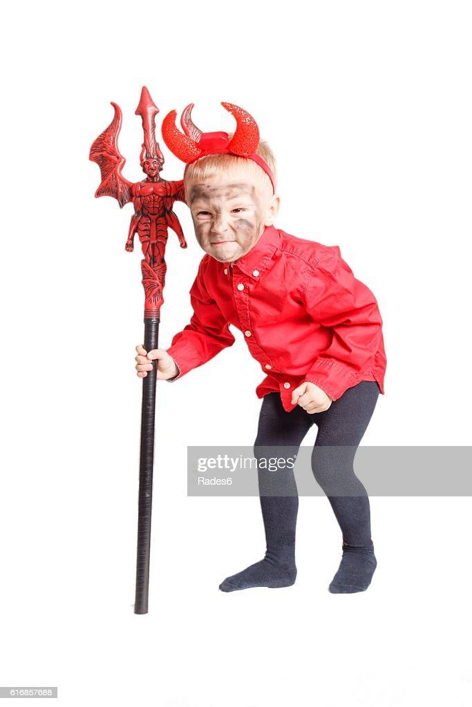 Little devil. : Stock Photo