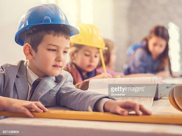 Little engineers.