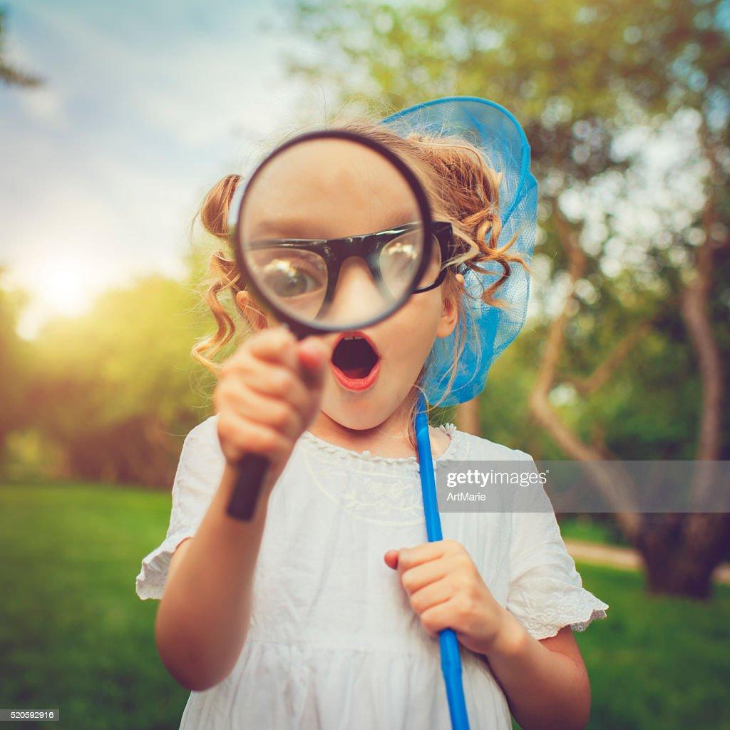 Little explorer : Stock Photo