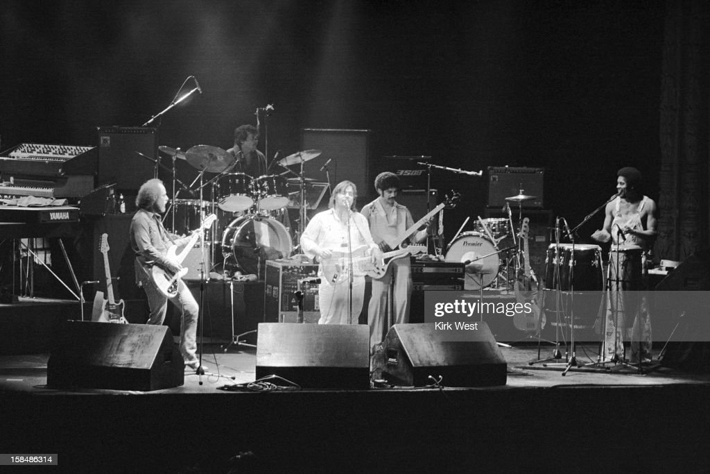 Little Feet performs at the Aragon Ballroom, Chicago, Illinois, March 29, 1978.