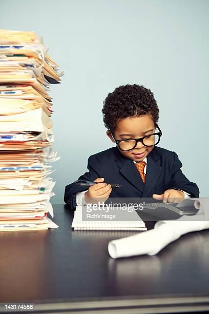 little financial advisor - unterschicht stereotypen stock-fotos und bilder